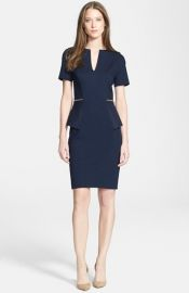 Ted Baker London and39Maddiyeand39 Peplum Body-Con Dress at Nordstrom
