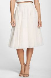 Ted Baker London and39Odellaand39 Embellished Tulle Skirt at Nordstrom