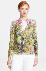 Ted Baker London and39Pretty Treesand39 Print Sweater at Nordstrom