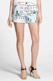 Ted Baker London and39Regency Housesand39 Print Shorts at Nordstrom