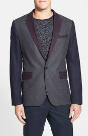 Ted Baker London and39Septaand39 Slim Fit Colorblock Blazer at Nordstrom