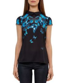 Ted Baker Nealie Butterfly Collective Top at Bloomingdales