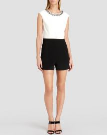 Ted Baker Romper - Oryana Embellished Neck at Bloomingdales