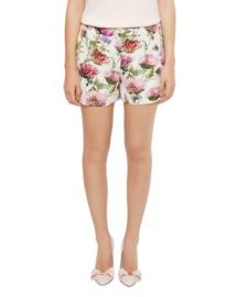 Ted Baker Ruthee Thistle-Print Shorts at Bloomingdales