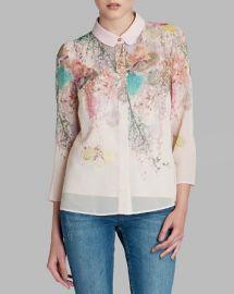 Ted Baker Shirt - Wispy Meadow Print at Bloomingdales