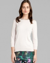 Ted Baker Sweater - Tahin Embellished at Bloomingdales