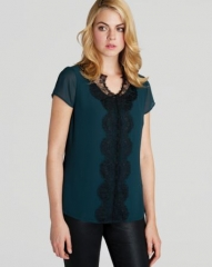Ted Baker Top - Ennya Lace at Bloomingdales