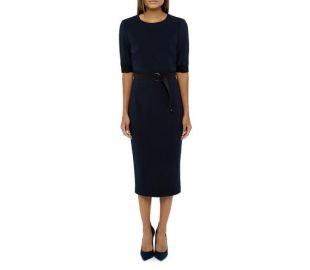 Ted Baker Wandee Color Block Dress at Bloomingdales