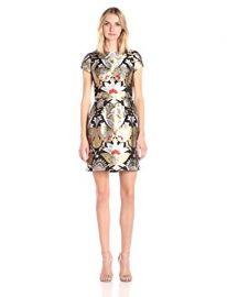 Ted Baker Women s Imoen Opulent Orient Jacquard Dress at Amazon