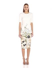 Ted Baker Women s Layli Gem Garden Bodycon Dress at Amazon