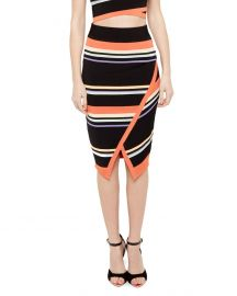 Ted Baker Xammie Tribal Stripe Skirt at Bloomingdales