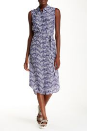 Tegan Silk Leaf Dress in Ultramarine at Nordstrom Rack