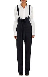 Teija Stretch-Cotton High-Waist Suspender Pants at Barneys