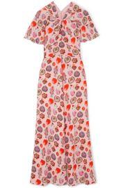Temperley London   Elixir printed crepe maxi dress at Net A Porter