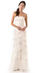 Temperley London Long Dove Bridal Dress at Shopbop