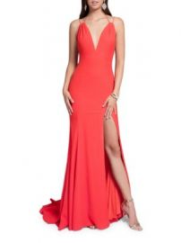 Terani Slit Gown at Lord & Taylor