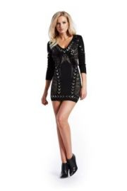 Tessa Embellished Dress at Guess