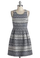 Tessellation Station Dress at ModCloth