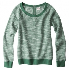 Textured Sweatshirt by Mossimo at Target