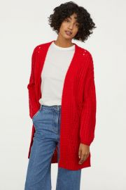 Textured cardigan at H&M