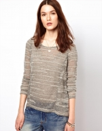 Textured sweater by Aryn K at Asos