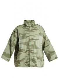 The Fleet Admiral camouflage-print jacket at Matches