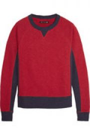 The Basic cotton-jersey sweatshirt at The Outnet