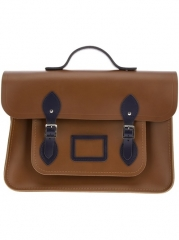 The Cambridge Satchel Company Leather Satchel - Bugatti Uomo at Farfetch
