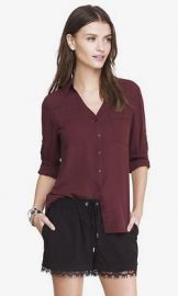 The Convertible Sleeve Portofino Shirt at Express