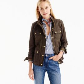J.Crew The Downtown Field Jacket in Mossy Brown  at J. Crew