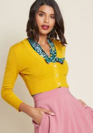 The Dream of the Crop Cardigan at ModCloth