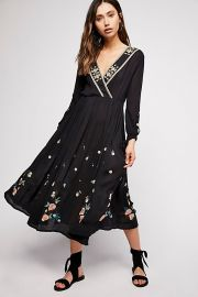 The Enchanted Forest Midi Dress by Free People at Free People