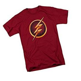 The Flash Logo -- CW s The Flash TV Show Youth T-Shirt at Amazon