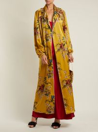 The Flower Queen silk robe at Matches