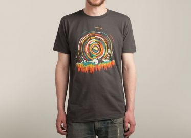 The Geometry of Sunrise Tshirt at Threadless