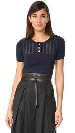The Kooples Cropped Knit Pullover at Shopbop