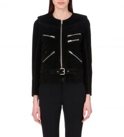 The Kooples Fringed Suede Jacket at Selfridges