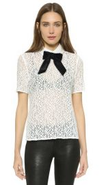 The Kooples Lace Top at Shopbop