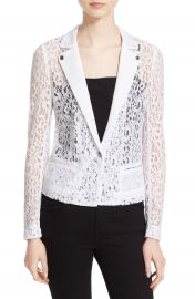 The Kooples One-Button Lace Jacket at Nordstrom