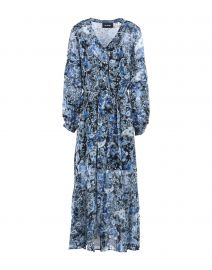 The Kooples Printed Long Dress at Yoox