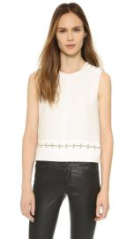 The Kooples Ring Detailed Blouse at Shopbop