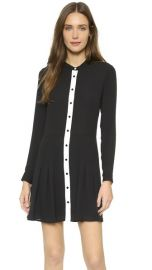 The Kooples Silk Portfolio Dress at Shopbop