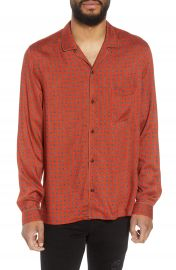The Kooples Slim Fit Paisley Sport Shirt at Nordstrom