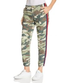 The Misfit Side-Stripe Camo Pants  Mother at Bloomingdales