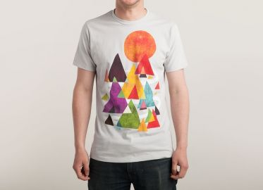 The Mountains Are Calling Tee at Threadless