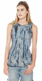 The Muscle Tee in Castle Dirty Desert at Current/Elliott