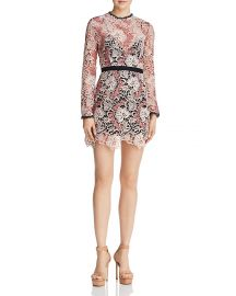 The Passion Lace Mini Dress at Bloomingdales