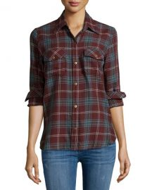 The Perfect Long-Sleeve Shirt by Current Elliott at Neiman Marcus