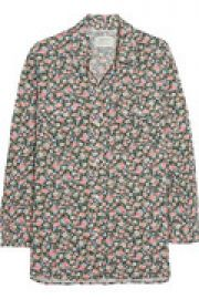 The Perfect floral-print voile shirt at The Outnet