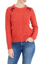 The Reeds X J Crew Cable Knit Sweater at Nordstrom